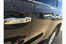 Хромированные накладки на ручки (4 шт, нержавейка) Тюнинг Toyota Land Cruiser 200