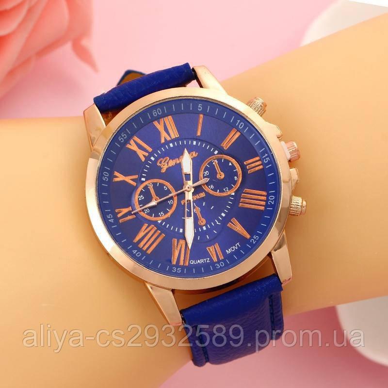 Женские часы GENEVA в синем цвете