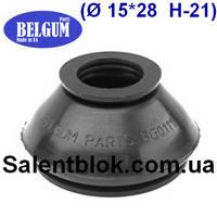 Пыльник шаровой опоры, рулевого наконечника 15*28* h-21 универсальный (МАСЛОСТОЙКИЙ), фото 1