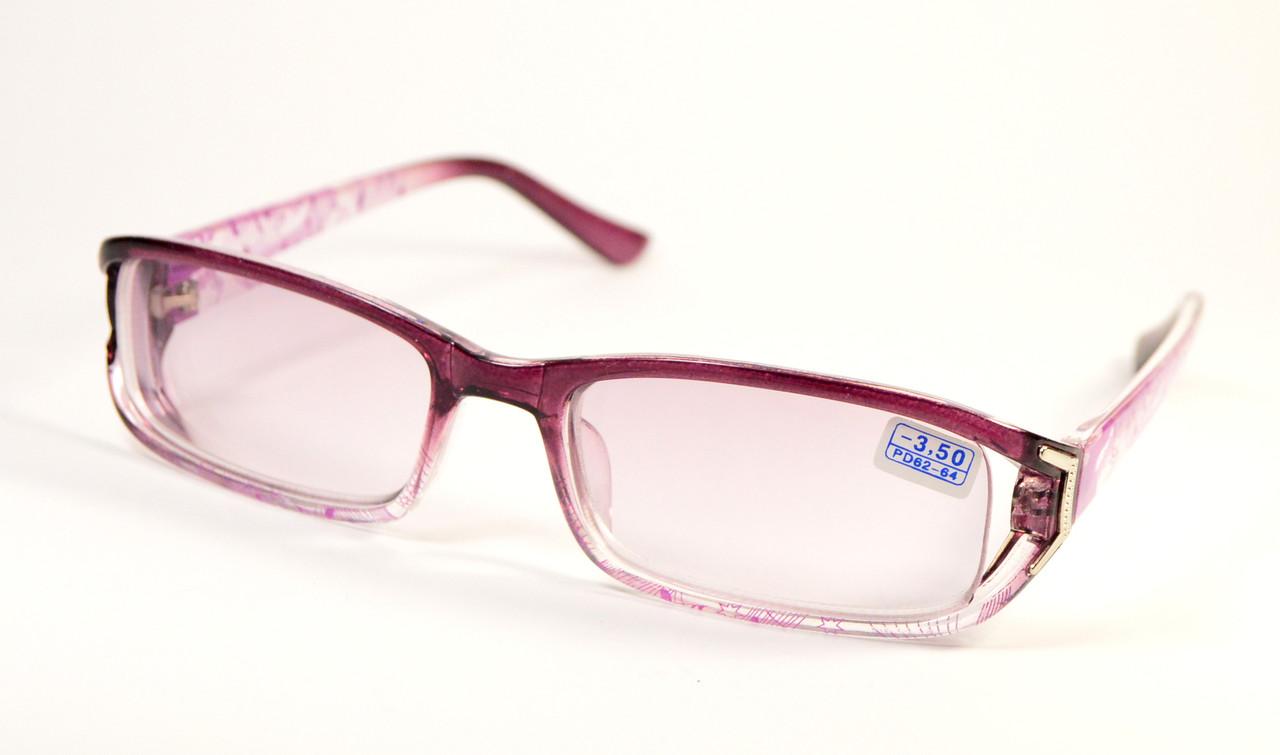 Женские очки с тонированной линзой (9088 тон ф-ф)