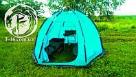 Палатка шатл - летнее пользование и размеры