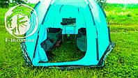 Палатка Шатл копия Лотос шестигранная 2.5*2.9 высота 185см всесезонная