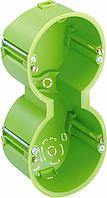 Подвійний підрозетник HW 050/2, Ø 2х68 мм