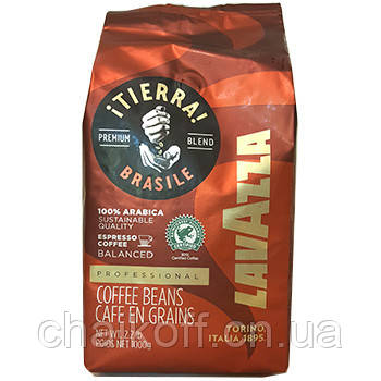 Кофе в зернах  Lavazza TierraBrazile 1000г