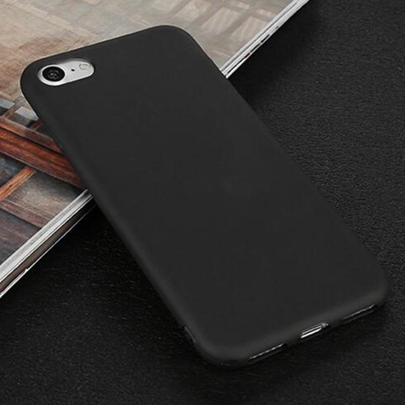 Чехол Style для Iphone 7 Plus / 8 Plus бампер матовый black