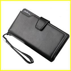 Кожаный мужской кошелек Baellerry Business клатч Оригинал! + ПОДАРОК!