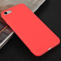 Чехол Style для Iphone 7 Plus / 8 Plus бампер матовый Red