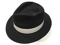 """Шляпа пластик """"Гангстер"""" 30*26см"""