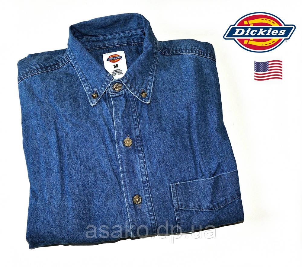 07784afd117 Мужская Джинсовая Рубашка Dickies®(США) (M)  100% Хлопок  Оригинал ...