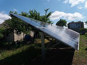 наземные столы с солнечными панелями обзорное фото