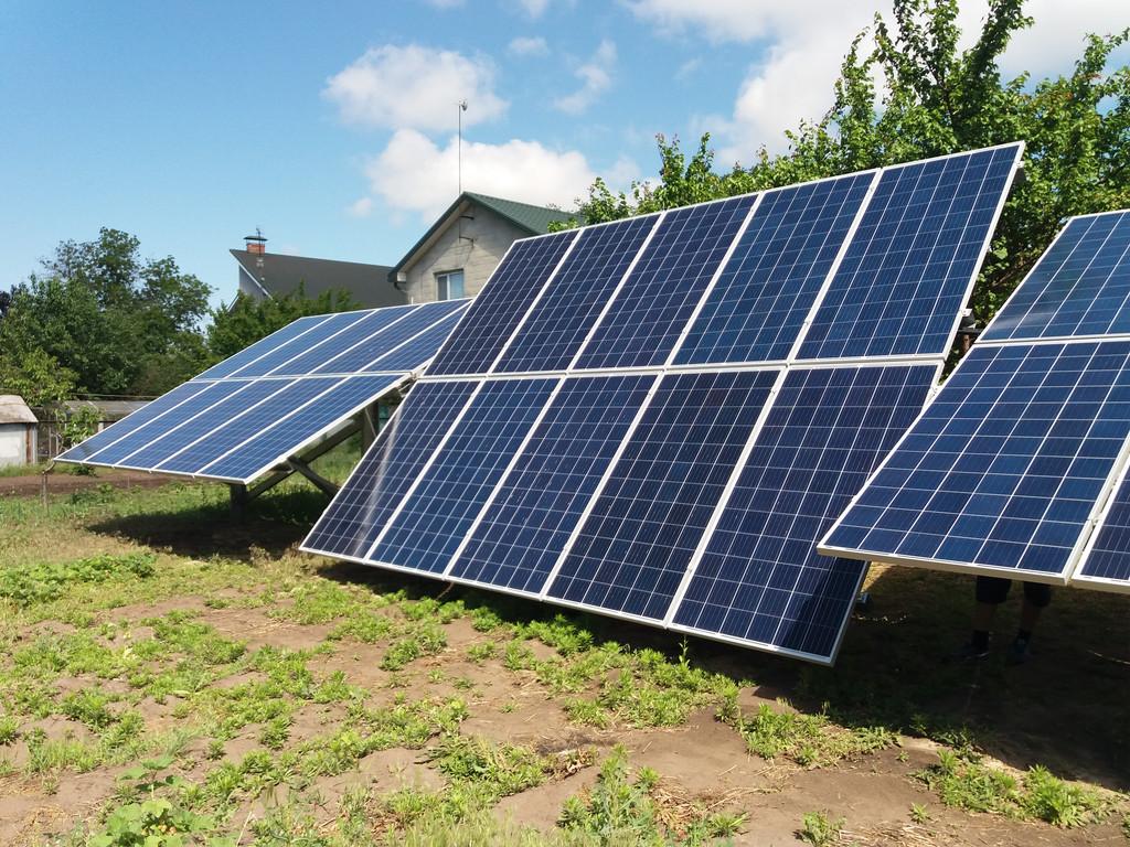 Куриловка солнечная электростанция 19 кВт для зеленого тарифа Днепропетровская обл. Altek + Huawei