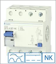 ПЗВ «DFS2 025-4/0,03-B NK» тип B, струм витоку 0,03А, ном.струм 25А
