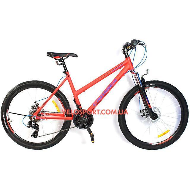 Подростковый велосипед Crosser Infinity 24 дюйма красный