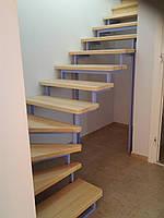 Лестница с ясеня. Деревянные лестницы из ясеня, фото 1