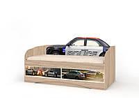 """Детский диван-кровать """"Полиция"""" (Размер: 70х140 см) ТМ Вальтер-С D-6.07.71"""