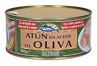 Тунец в оливковом масле Hacendado Atun en Aceite de Oliva 900 г (шт.)