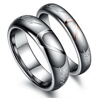"""Кольца для влюбленных из карбида вольфрама """"Хранители сердец"""", жен. 16.5, 18.0, муж. 18.0, 20.0"""