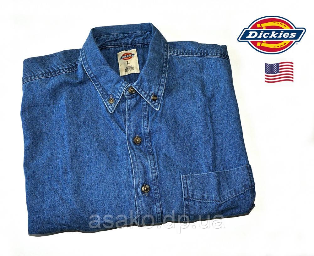 122ea4dc8 Мужская Джинсовая Рубашка Dickies®(США) (L) /100% Хлопок /Оригинал ...