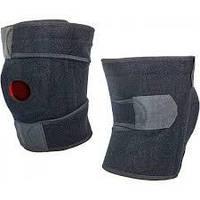 Фиксатор коленного сустава открывающийся со спиральными ребрами жесткости большого размера