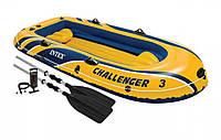 Лодка надувная Intex Challenger-3 Set (68370)