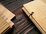 """Свадебная книга для поздравлений и пожеланий с деревянной обложкой """"Большой Венок"""", фото 2"""