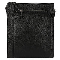 Мужская кожаная сумка-планшетка Tofionno W018-4 черная