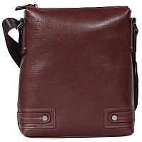Мужская кожаная сумка-планшетка Tofionno 330174 коричневая