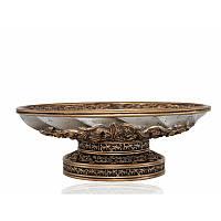 Мыльница Irya - Queen bronze бронзовый