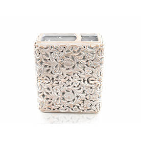 Стакан для зубных щеток Irya - Calisto ekru кремовый