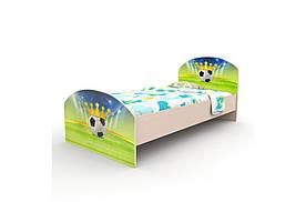 """Підліткове ліжко """"Футбол"""" (90х190 см) ТМ Вальтер-З K3-1.09.31"""