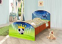 "Подростковая кровать ""Футбол"" (120х190 см) ТМ Вальтер-С  K3-2.12.31, фото 1"
