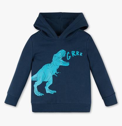 Теплая толстовка с динозавром на мальчика C&A Германия Размер 110