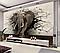 "3D фотообои ""Слон"", фото 3"