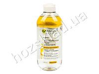 Мицелярная вода Garnier Skin Naturals двухфазная, с маслами, для очищения кожи лица, глаз, губ 400мл