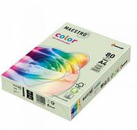 Бумага А4 Maestro Color GN27 светло-зеленый