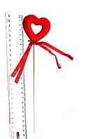 Сердце на палочке для любимых