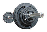 Штанга наборная олимпийская 103.5 кг 2.2 м