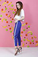 Женские брюки летние ткань костюмка, фото 1