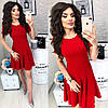 Летнее платье короткий рукав с расклешенной юбкой / 7 цветов  арт 6032-476, фото 3