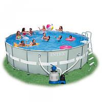 Каркасный бассейн Intex 28324 488х122 см