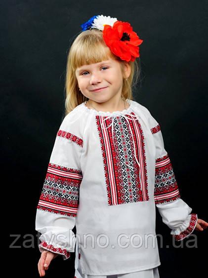 Вышитая блузка для девочки