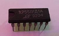 КР551УД2А DIP14 - операционный усилитель средней точности