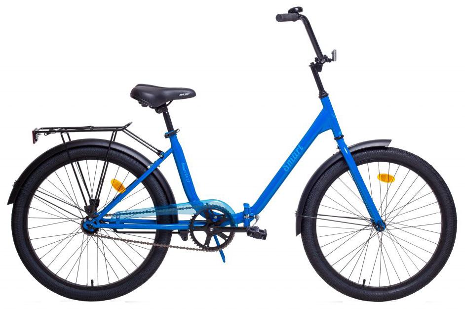 Велосипед Aist Smart 24 1.1 Голубой складной, фото 1