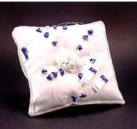 Свадебная подушечка для колец (электрик)