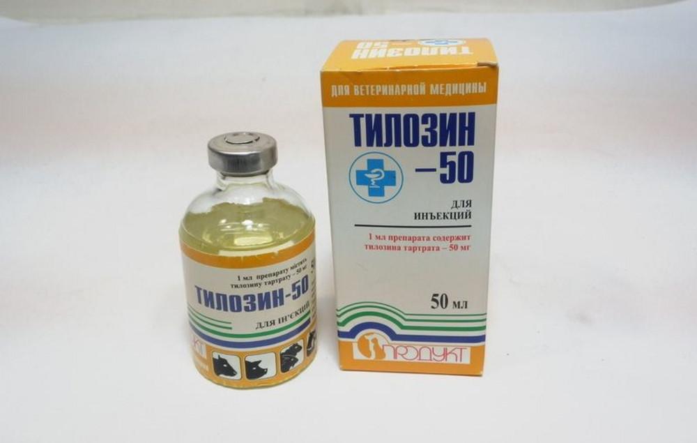 Тилозин-50  50 мл Продукт