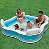 Надувной семейный бассейн Intex 56475 размер 229*229*66 см, фото 4