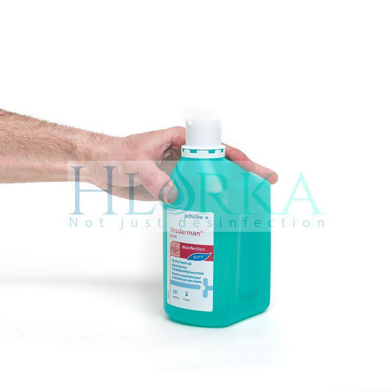 Дездерман пур - антисептик для гигиенической и хирургической обработки рук, 1 л (Schulke) Германия