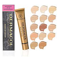Тональный крем dermacol для всех типов кожи