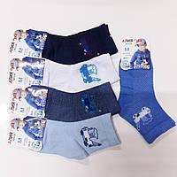 Детские носки хлопок с сеткой Алия, размер 26-31, ассорти, С28+1