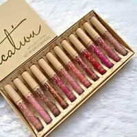 Большой профессиональный набор  kylie vacation lipstick, фото 1